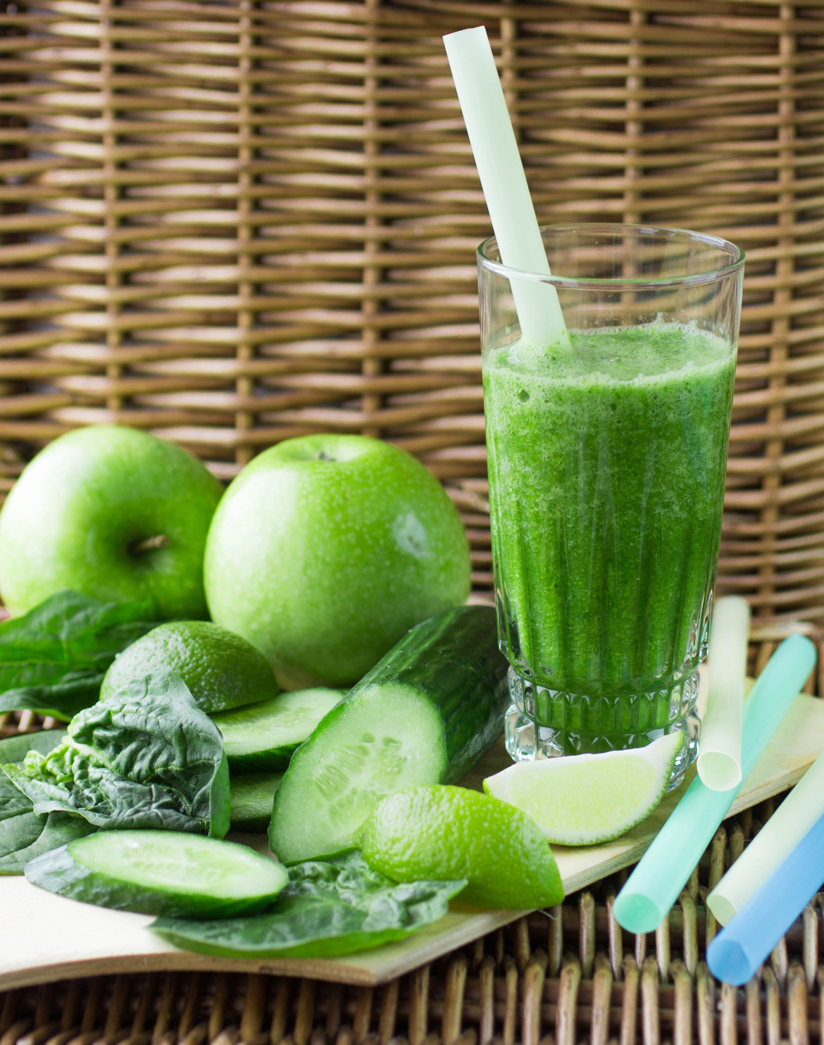 Post Yoga Smoothie: Cucumber Mint Cooler