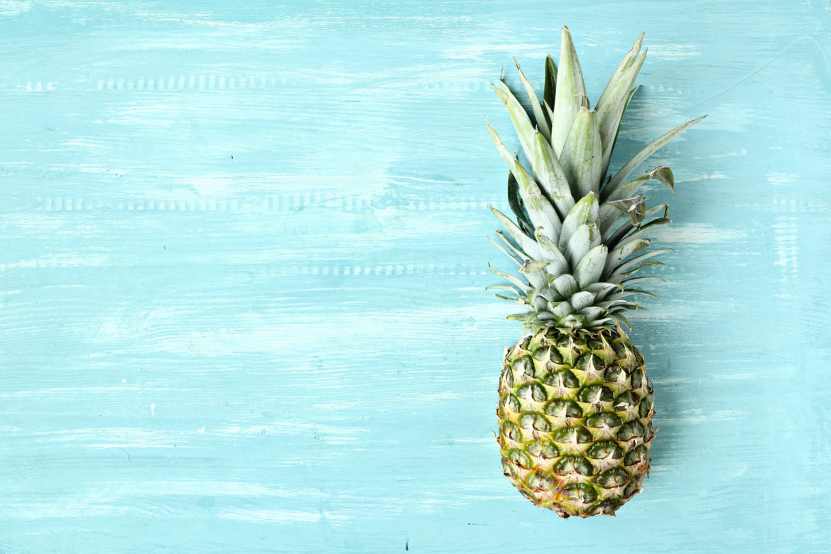 Metabolism Rev Up Smoothie! Spicy Green Pineapple